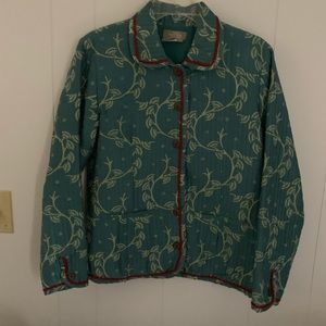 EUC  The Territory Ahead - jacket - green/red